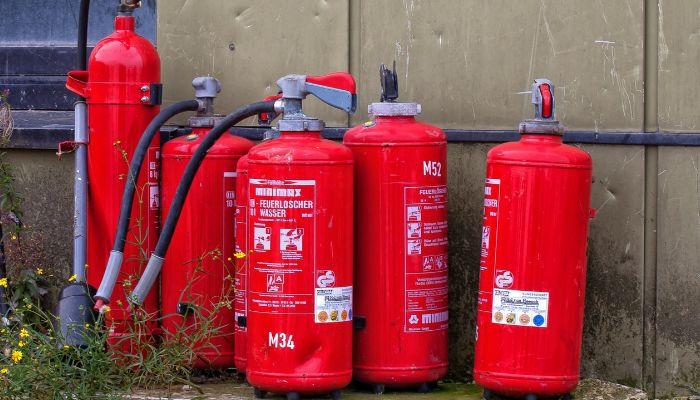 Mantenimiento general de extintores