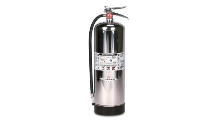 Extintor de agua presurizada
